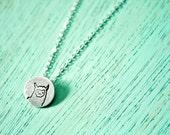 Miniature Llama Necklace Tiny Silver Llama Necklace Miniature Necklace Tiny Necklace Llama Jewelry Tiny