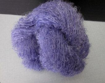 Kid Mohair Petite Loop Boucle Yarn (Lilac) 100 yards 91.4 meters