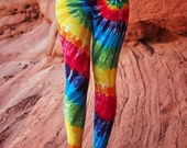 Tie Dye Rainbow Yoga Legging - Tye Dye Dance Fitness Tights