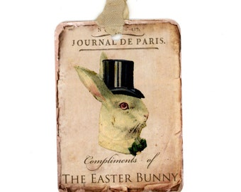 Easter tags easter gift tags easter bunny tags kids easter gift tags easter bunny tags easter rabbit vintage easter vintage easter negle Image collections
