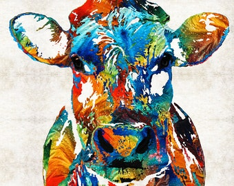 Buy art online original abstract paintings by for Abstract animal paintings