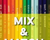 26 for 25 Mix and Match Pencils - Awesome Gift Idea