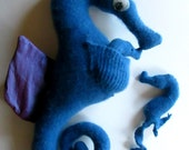 Recycled Cashmere/Silk Papa Seahorse