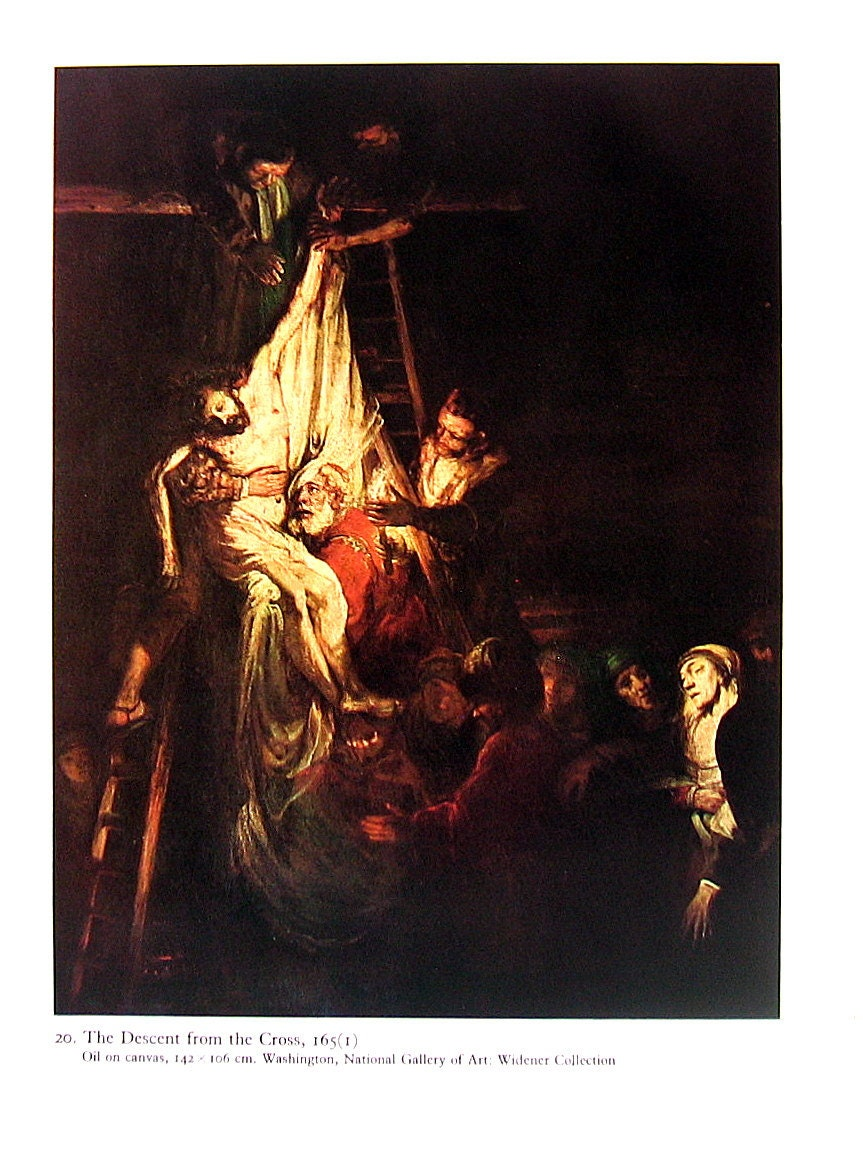 Rembrandt The Descent from the Cross David by ...