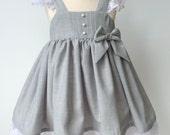 Celebration Dress, Celeste, last one, size 2T, ready to sihp