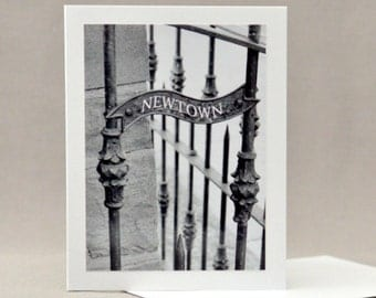 Newtown  PA Gate Note Card