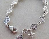 St. Benedict Rosary Bracelet