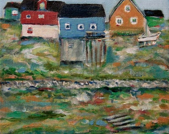 The Colors of Greenland - original painting