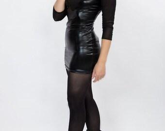 Black Cyber dress