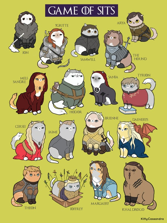 Cats as TV and Movie Characters