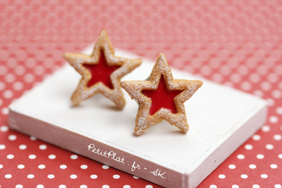 Linzer Stars Recipes — Dishmaps