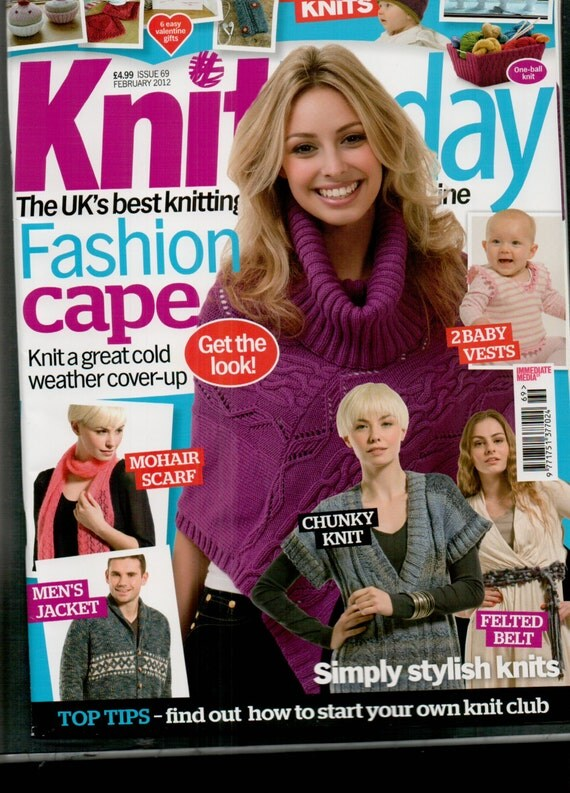 Knit Today Knitting Magazine Issue 69 February 2012