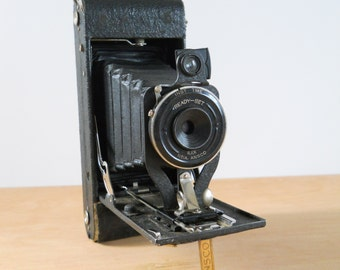 Vintage Ansco Camera • Ilex No.1A Fold Out Pop Out Camera