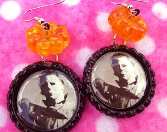 Halloween Michael Myers Horror Earrings