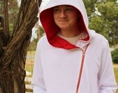 His & Hers Hoodie and Hooded Vest (XS-5XL) Downloadable .PDF Sewing Pattern/E-Book