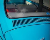 1966 Volkswagen Beetle Car Front End Fine Art Print- Car Art, Antique Car, Home Decor, Nursery Decor, Wall Art, Vintage Car