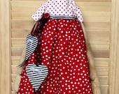 Primitive Raggedy Ann Hanging Doll