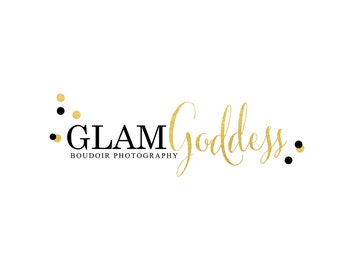 Gold Logo Photography Logo Event Planner Logo Party Planner Logo Watermark Logo Design Party Signature Logo Blogger Branding Lash Logo