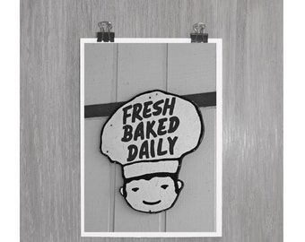 Fresh Baked Daily - 4x6 photograph
