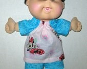 Cabbage Patch Naptime Babyland Doll Clothes  Minnie Mouse Short Set  12 13   inch Doll Clothes