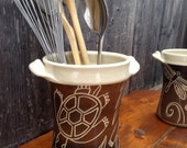 Turtle Utensil Holder