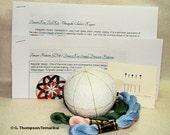 Beginning Temari Kit - Traditional Kiku Design