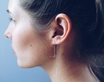 Harpoon Thread Earring
