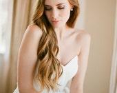 EDEN floral bridal headpiece with pearls