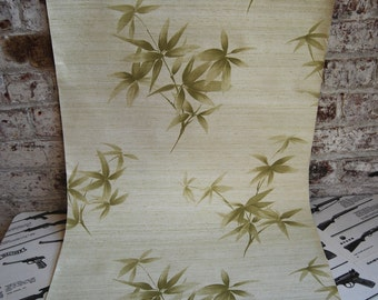 Vintage Bamboo Wall Paper