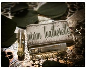 warm leatherette - natural perfume/cologne oil mini sampler twin pack - primary notes: leather, frankincense & clove
