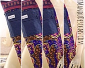 "Reserved for Jodi - Custom - Yoga Mat Bag ""The Scorpion"" - Lengthwise zipper, adjustable strap, and exterior pocket"