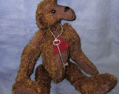 One Dollar Special, Long Snout Teddy Bear Pattern Instand Download