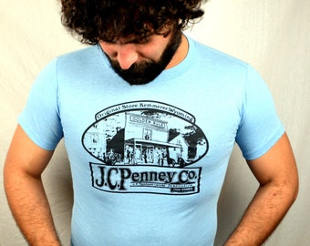 Rare Vintage 1980s JC Penney Tee Shirt - XS