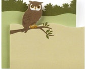 Little B Paper Adhesive Notes OWL