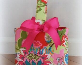 Personalized Easter Basket Custom Easter Baskets Monogrammed Easter Basket for girls or teens