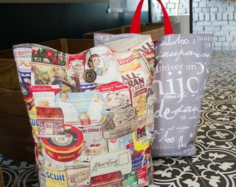 no 632 Peyton Market Bag PDF Sewing Pattern - Instant Download - One Plus One!