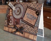 Oh Snap! Handmade Birthday Card with Vintage Camera Paper Tole