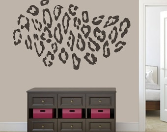 Leopard Print - Aniamls Shapes Wall Decals