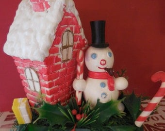 Frosty and His Friends House