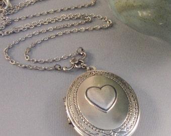 Token Heart,Locket,Silver Locket,Heart Locket ,Antique Locket,Heart Necklace,Heart,Heart Jewelry,Love,Love Locket,Token,valleygirldesigns.
