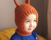 NEW 3T-6T Happy Squirrel wool hat  #16