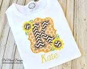Sunflower Frame Personalized Shirt, Bib or Hand Towel, Appliqued, Short or Long Sleeve Shirt, Terry Cloth Bib,Totally Custom