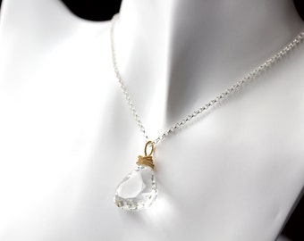 Patisserie Necklace- Rock Crystal