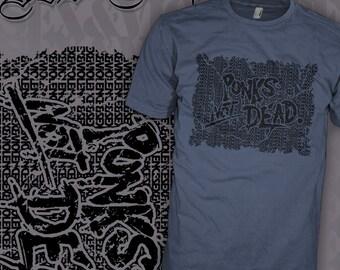 The EXPLOITED Band Shirt - Punks Not Dead - Wattie Rock - Sex and Violence Oi T-Shirt