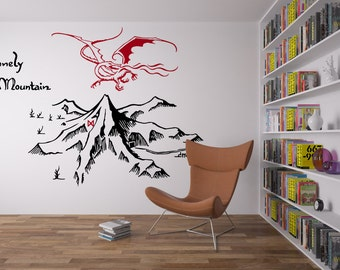 The Lonely Mountain Wall Decal