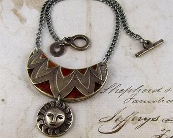 Sun Worship - Necklace