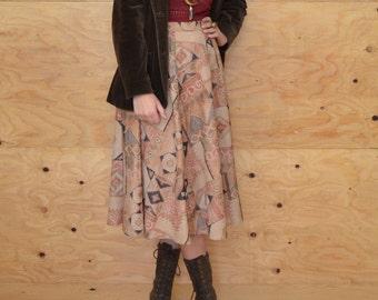 Vintage 70's Blazer In Brown Velvet Perfect Boho Fall Coat SZ M