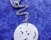 Orion Star Constellation Necklace Pendant or Keychain