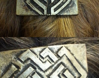 Heirs of Durin- Dwarf hair clip set of 2