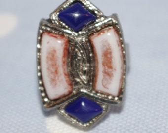 Wow what a superb Celtic style - Mid Century adjustable Ring - c1960s